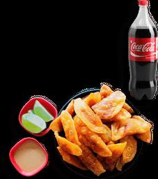 Combo 50 Empanaditas de Pipían + Coca Cola