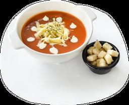 Crema de Tomate y Maíz