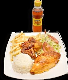 🍗Bandeja Pollo Francesa - Gaseosa