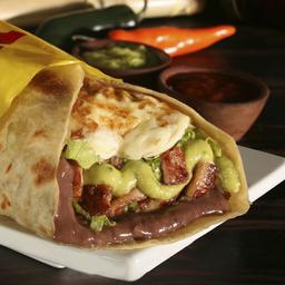 🌯 Burrito de Pollo en Salsa de Champiñones