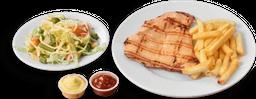 Filete de Pollo Asado + 2 Acompañamientos