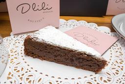 🍰Porción Torta de Brownie Melcochuda🍫