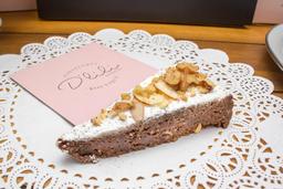 🍰Porción Torta de Brownie Praline
