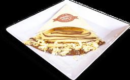 Nutella y queso mozzarella