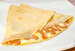 Arequipe y queso mozzarella