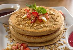 Pancakes de Avena Frutal