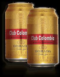 2 Cervezas Club Colombia