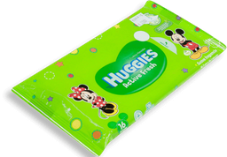 HUGGIES TOALLITAS HUMEDAS ACTIVE FRESH 24X16