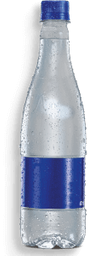 Botella agua con gas
