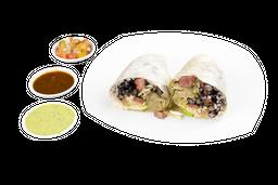 Burrito mediano dos carnes