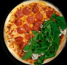Pizza por Mitades 12 porciones🍕🌿