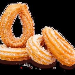 Churritos x4 con azúcar o azúcar y canela