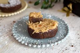 Torta Grande Melcochuda de Dulce de Leche y Coco
