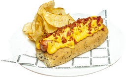 Hot Dog Queso