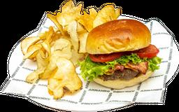 Burger Queso y Tocineta