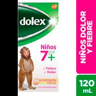 Dolex Suspension 120 Ml 7+ (Pack x 8)