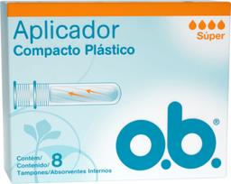 Tampones Ob Super Aplicador Curvos X8