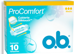 Tampones Ob Proconfort Medio X10Und
