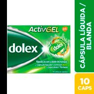 Dolex Activgel 10 Tabs ( Pack x 12)