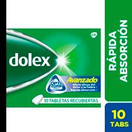 Dolex Avanzado 10 Tabs (Pack x 12)