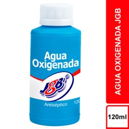 Agua Oxigenada Jgb Antiseptico X120 Ml