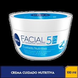 Nivea Crema Facial Cuidado Nutritivax100g