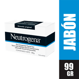 Neutrogena Jabón Limpieza Facial x 99 gr