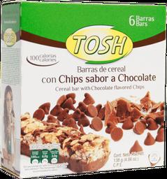 Barra Cereal Tosh Chocolate X6 Und 138Gr