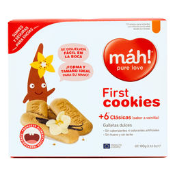 Galleta Infantil First Cookies  Mah!