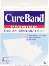Cureband Gasa Esteril 7.5*7.5 X 18Uni