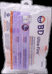 Bd Jeringa Insulina 0.3Ml 31Gx6Mm Bagx10Und