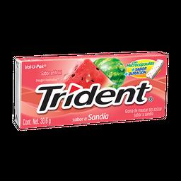 Trident Chicle Sin Azúcar Sabor Sandia Pack
