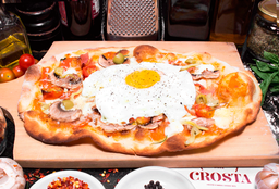 Pizza estrellada