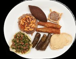 Plato mixto tradicional arabe