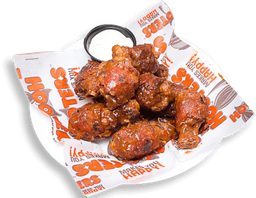 Hooters Bacon Wrapped Wings