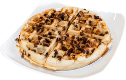 Waffle chips chocolate