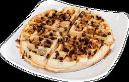 Waffle arándanos y manzana