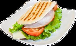 Sándwich pernil de cerdo