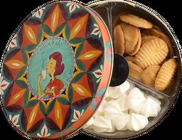 Caja Surtida Con Galletas Chocochips, Mantequilla Y Suspiros