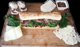 Sándwich Beef Hongos Melt