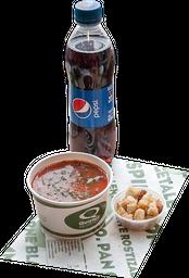 Combo Sopa + Bebida Botella