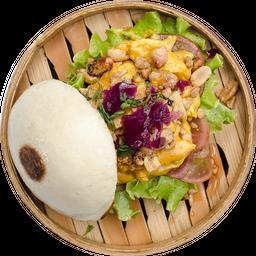 Pollo Curry Burgerbun