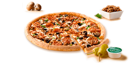 Pizza Mega Familiar x Mitad