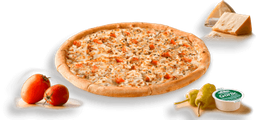 Pizza Mega Familiar 1 Ingrediente