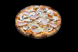 Pizza Jamón y Champiñón
