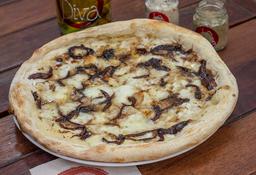Cebolla caramelizada al balsámico con gorgonzola