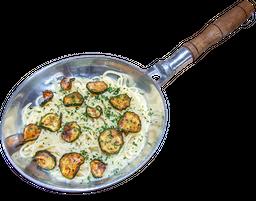 Pasta de Zucchini y Pecorino