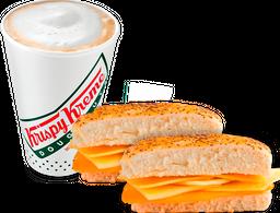🥪2 Sándwich Tres Quesos + ☕Capuccino