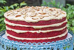 Torta de Red Velvet Grande
