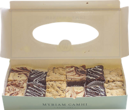 🍫 Caja de Mini Brownies x12